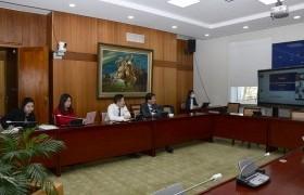 Ажлын хэсгийн гишүүд Дэлхийн банкны суурин төлөөлөгчийн газрынхантай цахим уулзалт хийлээ