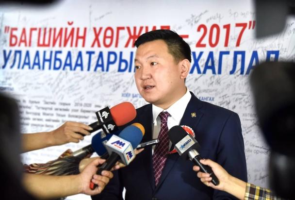 """УИХ-ын гишүүн Н. Учрал: """"Багшийн хөгжлийн асуудал бол Монголын хөгжлийн асуудал"""""""