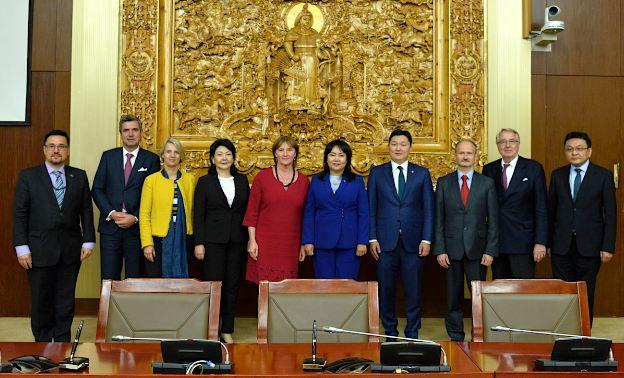 Монгол Улсын Их Хурал, Европын парламент хоорондын XII уулзалтаар Хамтарсан мэдэгдэл гаргалаа