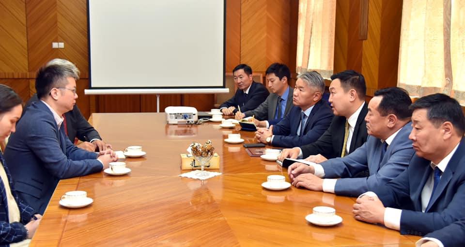 """""""Фэйсбүүк"""" группийн Ази номхон далайн бүсийн бодлого, үйл ажиллагаа хариуцсан захирал Жорж Чэнийг хүлээн авч уулзлаа"""