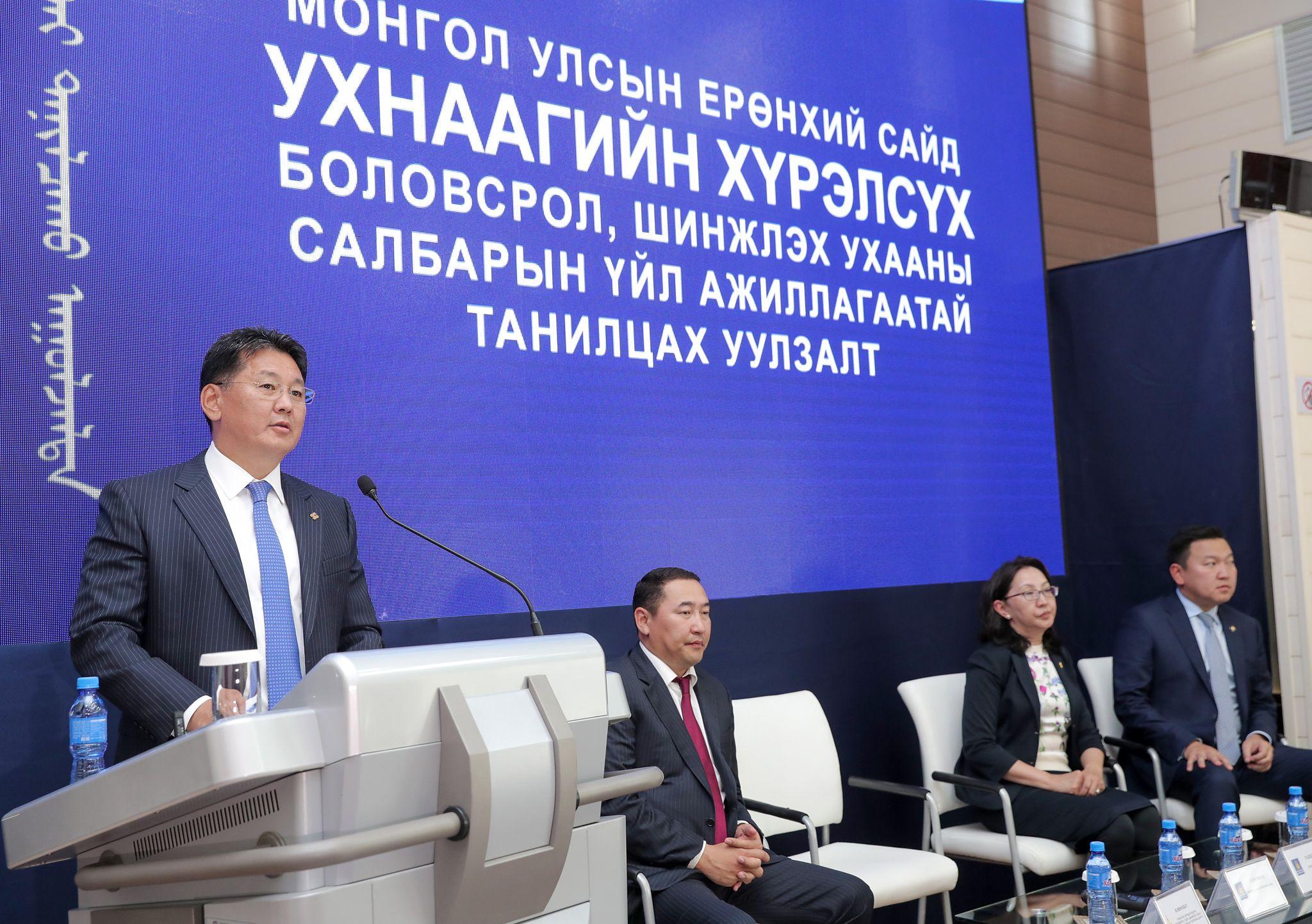 У.ХҮРЭЛСҮХ: Монгол хүүхэд эх орныхоо хаана сурч байгаагаас үл хамааран ижил түвшинд чанартай боловсрол эзэмших ёстой
