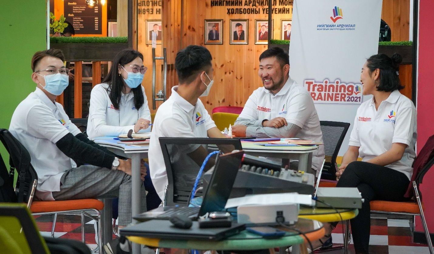 """""""Training of Trainer 2021"""" сургагч багш бэлтгэх сургалт эхэллээ"""